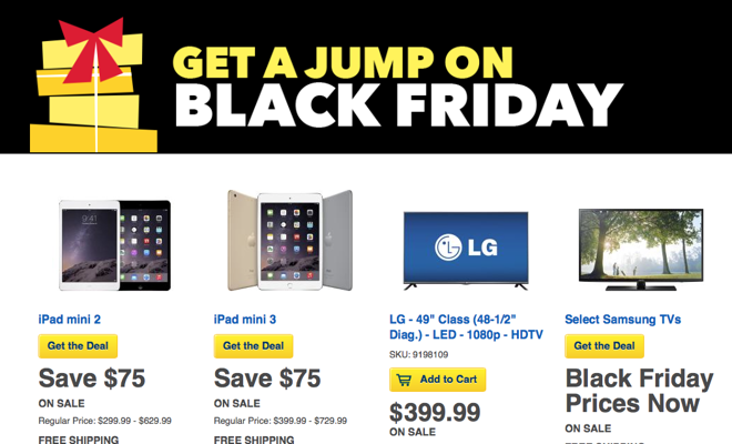 Best Buy knocks $75 off iPad mini 3, $70 iff Beats Solo, $20