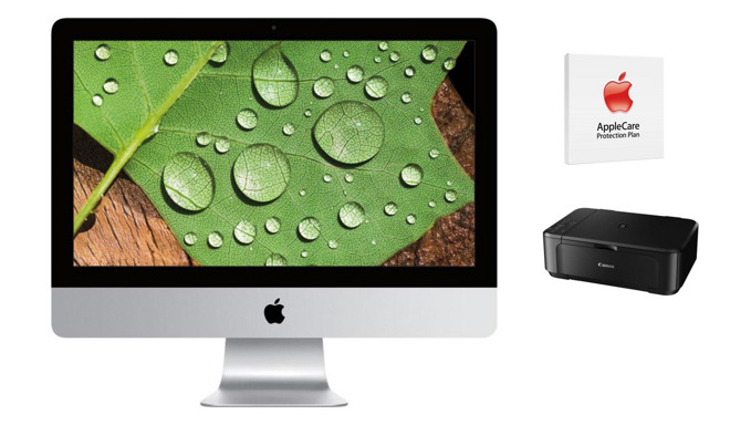 Apple iMac 4K with AppleCare and free printer
